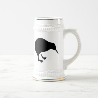 Kiwi All blacks and All Whites New Zealand gear Beer Stein