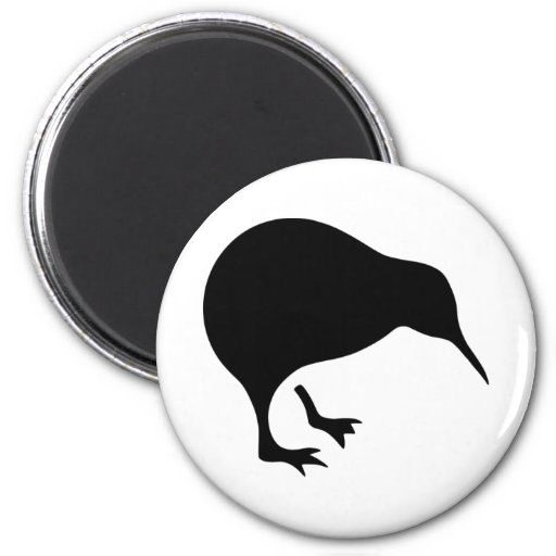 Kiwi All blacks and All Whites New Zealand gear Magnet