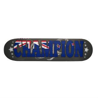 Kiwi and a Champion Custom Skate Board