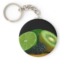 Kiwi and lime keychain