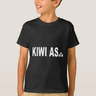 KIWI AS funny design for New Zealanders T-Shirt