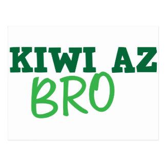KIWI Az BRO (New Zealand) Postcard