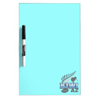 KIWI AZ rugby bird and silver fern Dry Erase Board