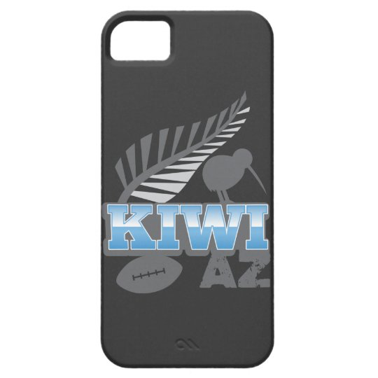 KIWI AZ rugby bird and silver fern iPhone SE/5/5s Case