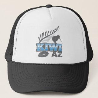 KIWI AZ rugby bird and silver fern Trucker Hat