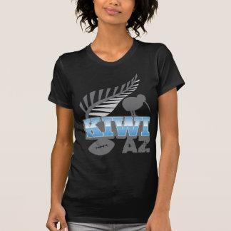KIWI AZ rugby bird and silver fern Tshirt