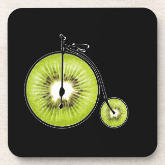 Kiwi bicycle coaster