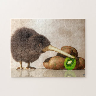 Kiwi Bird and Kiwifruit Puzzles