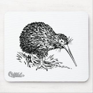 Kiwi Bird Art Mouse Pads