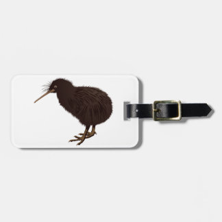 Kiwi Bird Bag Tag