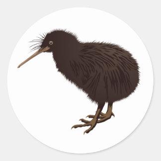 Kiwi Bird Classic Round Sticker