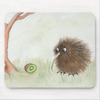 Kiwi Bird & Kiwi Fruit Mousepad