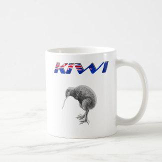 Kiwi Bird New Zealand flag logo gifts Coffee Mug