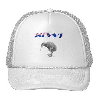 Kiwi Bird New Zealand flag logo gifts Trucker Hat