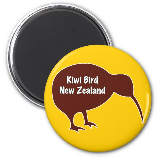 Kiwi Bird - New Zealand Magnet