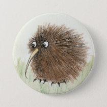 Kiwi Bird Pinback Button