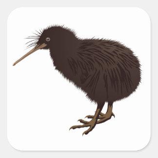 Kiwi Bird Square Sticker