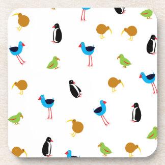 Kiwi Birds Cork Coaster