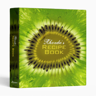 Kiwi Blend 1 Inch Recipe Binder