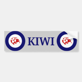 KIWI Bumper sticker