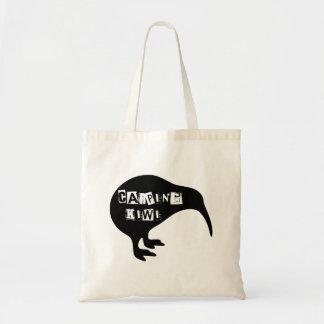 KIWI, Carping Kiwi Tote Bag