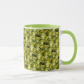 Kiwi Collage Mug