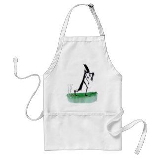 kiwi cricket old father time, tony fernandes standard apron