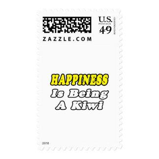 Kiwi de la felicidad… sellos