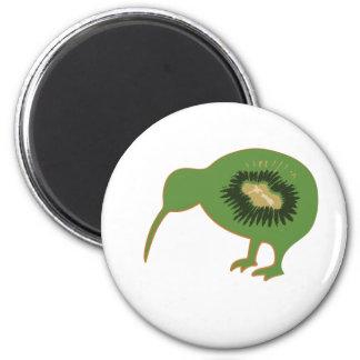 kiwi del nz del kiwi imán redondo 5 cm