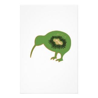 kiwi del nz del kiwi papelería personalizada