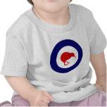kiwi del roundel de Nueva Zelanda Camisetas
