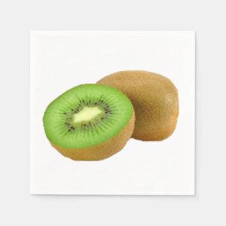 """Kiwi"" design paper napkins"