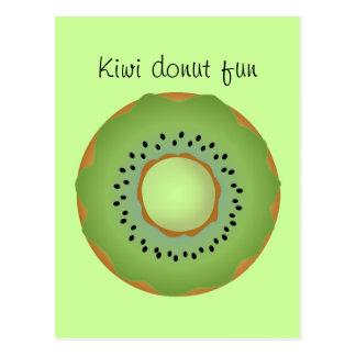 kiwi donut postcards