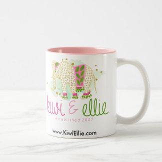 Kiwi & Ellie Logo Mug