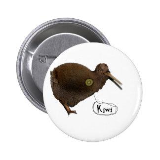 Kiwi en el corazón pins
