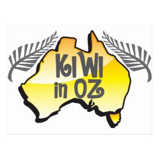 KIWI en la onza Nueva Zelanda en Australia Postal