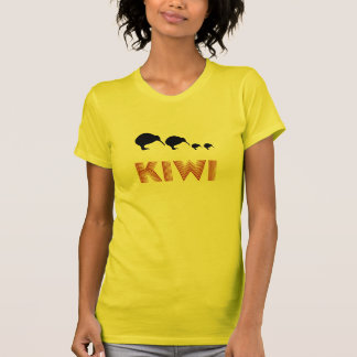 Kiwi Family Retro Shirt Graphic T-Shirt