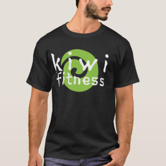 Kiwi Fitness Logo - Dark Apparel T-Shirt