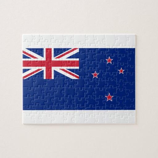 Kiwi Flag Puzzle