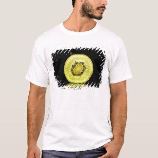 Kiwi,Fruit,Black background T-Shirt
