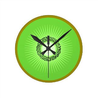 Kiwi Fruit Clock