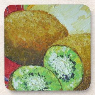 Kiwi Fruit Coasters