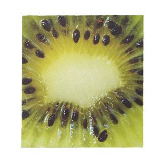 Kiwi fruit notepad