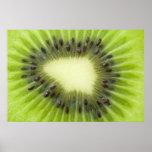 Kiwi fruit. posters
