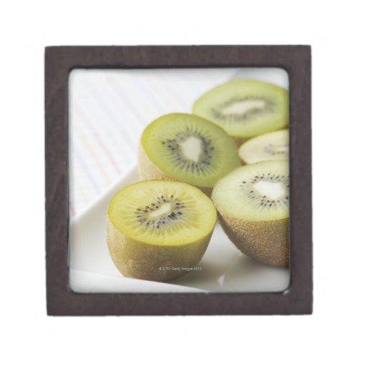 Kiwi fruit premium jewelry boxes