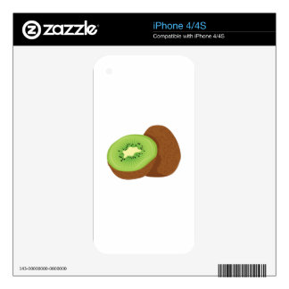 Kiwi Fruit Skins For The iPhone 4S