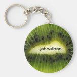 Kiwi Fruit With Name Keychains