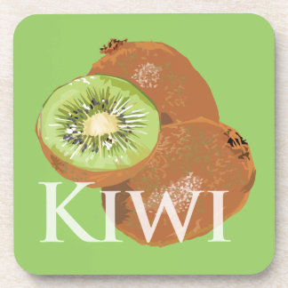 Kiwi Fruits Drink Coaster