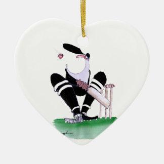 kiwi gobsmacked, fernandes tony adorno navideño de cerámica en forma de corazón