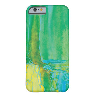 Kiwi Green Abstact Water Art iPhone 6 Case